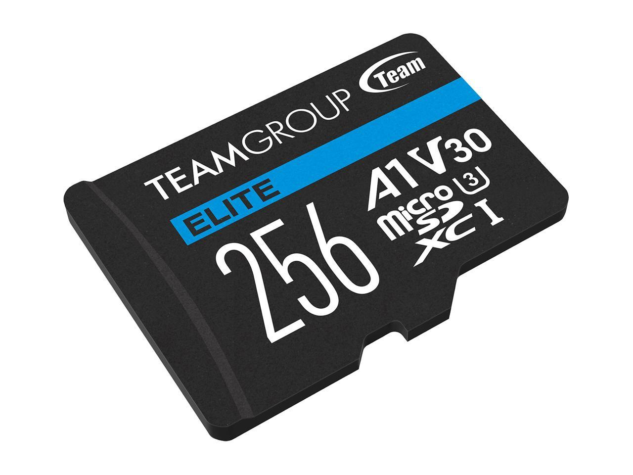 Flash card Micro-SD 256GB-XC Team Elite A1 V30