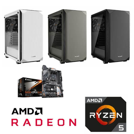 Game PC AMD GRIFFON R3600RX  RYZEN 5 3600, 16GB, RX 5700 8GB, 240GB NVMe M.2 SSD, 1TB HDD