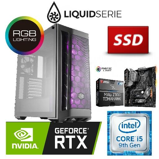 Game PC Intel SPECTER RGB C956RTX Core i5 9600K, 16GB, RTX 2070 8GB,    -  De winkel voor uw Computer en Laptop! Ook voor reparaties