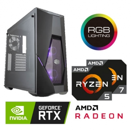 Game PC CYCLON GTR PLUS RGB AMD RYZEN