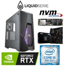 Game PC Intel CYCLON RGB C961RTX Core i5 9600K, 16GB DDR4 3000, RTX 2070 8GB, 240GB NVMe SSD, 1TB HDD