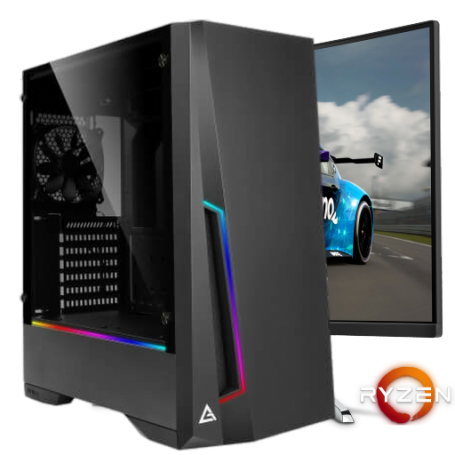 PHANTOM AMD 1660S : AMD Ryzen 5 3600 6-Core ( Turbo 4.2 Ghz) / NVIDIA GTX 1660 SUPER 6GB GDDR6 / 16GB DDR4 3200 / Windows 10 PRO