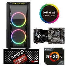 Game PC AMD TALOS S (A)RGB R240RX R5 2400G, 8GB, RX 570 4GB, 256GB SSD, 1TB HDD*