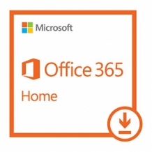 Microsoft Office 365 Home 5U, 1 Jaar