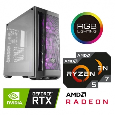 Game PC SPECTER GTR PLUS RGB AMD RYZEN